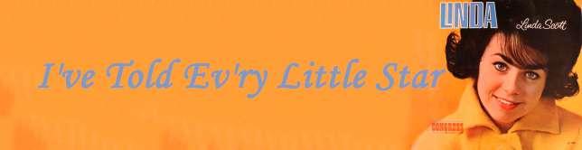 Linda Scott - I've Told Ev'ry Little Star